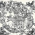 Durer's Celestial Globe, 1515 by Sheila Terry