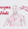 Dwyane Wade by Toni Jaso