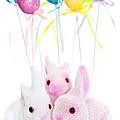 Easter Bunny Toys by Elena Elisseeva