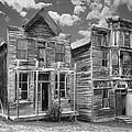 Elkhorn Ghost Town Public Halls - Montana by Daniel Hagerman