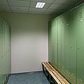 Empty Locker Room by Jaak Nilson