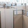 Empty Office Cubicles by Jetta Productions, Inc