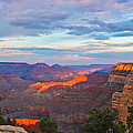 Grand Canyon Grand Sky Print by Heidi Smith