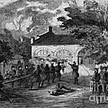 Harpers Ferry Insurrection, 1859 by Photo Researchers