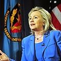Hillary Clinton, Us Secretary Of State by Everett