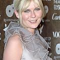 Kirsten Dunst Wearing A Valentino Gown by Everett