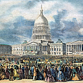 Lincoln Inauguration, 1865 by Granger