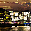 London City Hall At Night by Elena Elisseeva