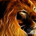 Lord Of The Jungle Print by Wingsdomain Art and Photography