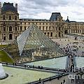 Louvre Museum. Paris by Bernard Jaubert