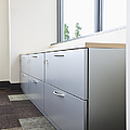 Metal Drawers And Shelf by Jetta Productions, Inc
