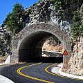 Mountain Tunnel. by Fernando Barozza