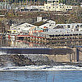 Old Industrial Complex Panorama Oregon City Or. by Gino Rigucci