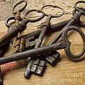 Old Keys by Bernard Jaubert