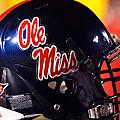 Ole Miss Football Helmet by University of Mississippi