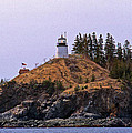 Owls Head Lighthouse by Skip Willits