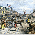 Panama Railway, 1888 by Granger