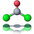 Phosgene Molecule Print by Laguna Design
