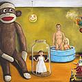 Playroom Nightmare 2 Print by Leah Saulnier The Painting Maniac