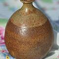Rare John Regis Tuska Pottery Vase by Kathy Clark