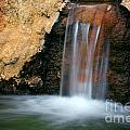 Red Waterfall by Carlos Caetano