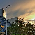 Rock And Roll Hall Of Fame by David Bearden
