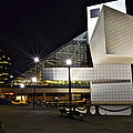 Rock And Roll Hall Of Fame by Frozen in Time Fine Art Photography