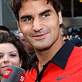 Roger Federer At A Public Appearance by Everett