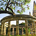 Rotunda Of Illustrious Jalisciences And Guadalajara Cathedral by Elena Elisseeva