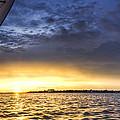Sailing Sunset Charleston Sc by Dustin K Ryan