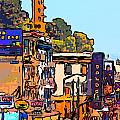 San Francisco Broadway by Wingsdomain Art and Photography