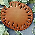 Sea Cucumber Plate by Steve Gschmeissner