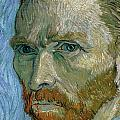 Self-portrait Print by Vincent Van Gogh