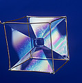 Soap Films On A Cube by Andrew Lambert Photography