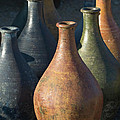 Sunrise And Pottery by Sandra Bronstein