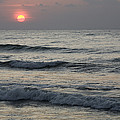Sunrise Over Arabian Sea Hawf Protected by Sebastian Kennerknecht