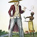 Surinam: Slave Owner, 1796 by Granger