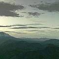 Terragen Render Of Mt. St. Helens by Rhys Taylor