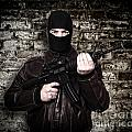 Terrorist Portrait by Gualtiero Boffi