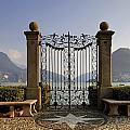The gateway to Lago di Lugano Print by Joana Kruse