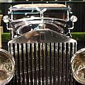 The Rolls Royce Print by Wingsdomain Art and Photography