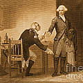 Treason Of Benedict Arnold, 1780 by Photo Researchers