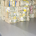 Us Bills In Bundles by Adam Crowley