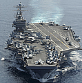 Uss Abraham Lincoln Transits The Indian by Stocktrek Images