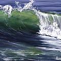 Wave 8 Print by LISA REINHARDT