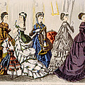 Womens Fashions From Godeys Ladys Book by Everett