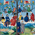 15th-century Family Tree by Photo Researchers