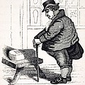 1836 Caricature Of Victorian Mortality by Paul D Stewart