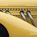 1935 Auburn 851 Sc Speedster Detail - D008160 by Daniel Dempster