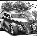 1937 Ford Sedan Print by Peter Piatt